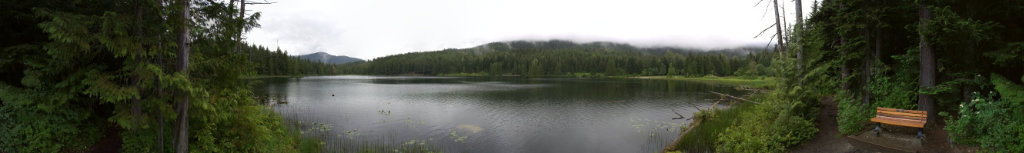Picture of a lake in Canada